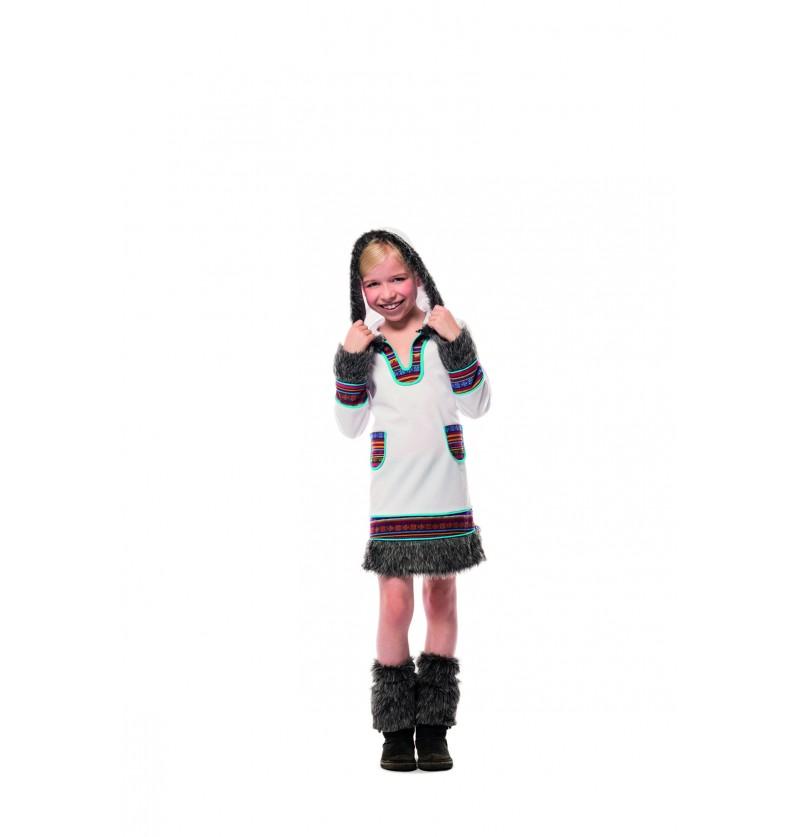 disfraz de esquimal blanco para nia
