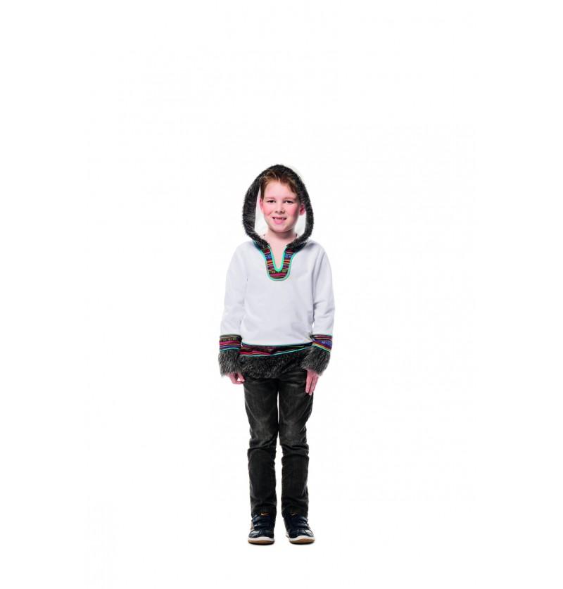 disfraz de esquimal blanco para nio