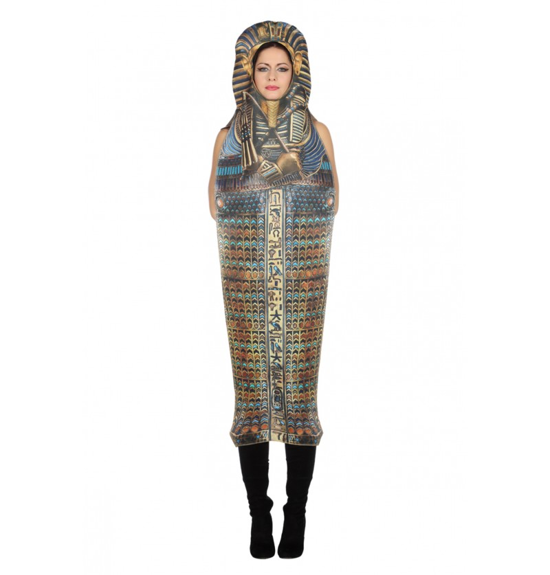 disfraz de sarcfago de tutankamn para adulto