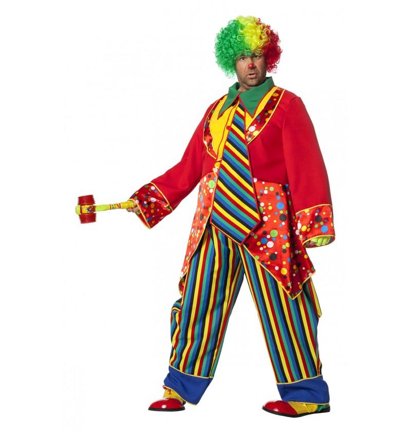 disfraz de payaso divertido para hombre
