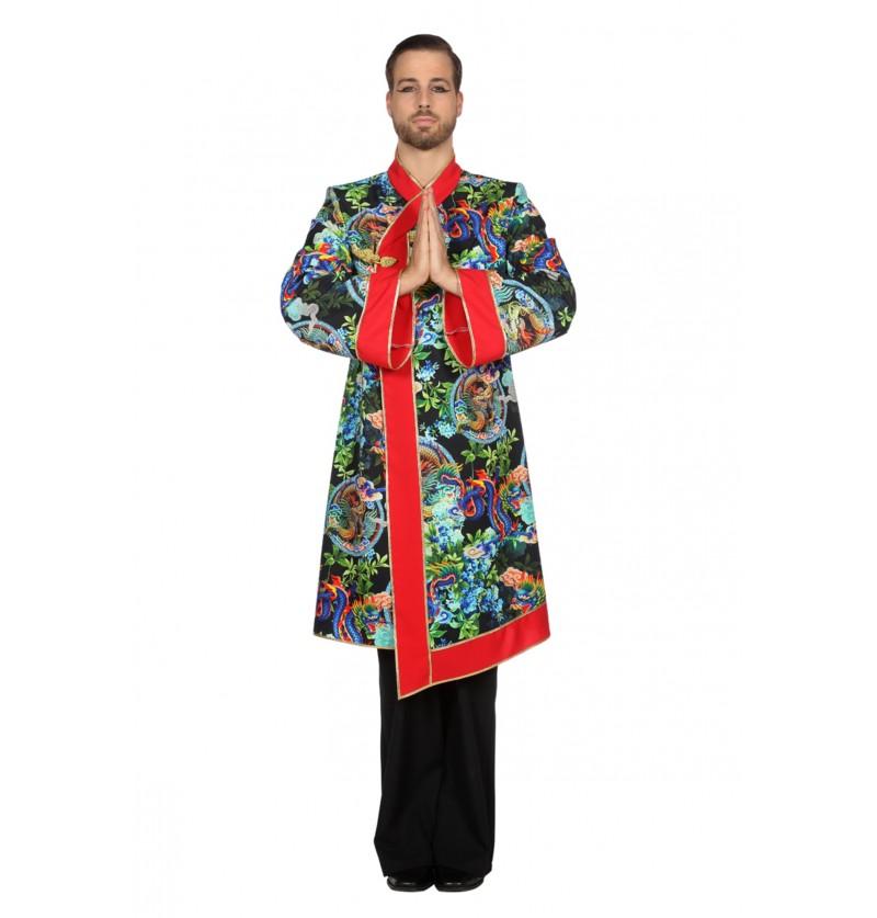 disfraz de monje asitico para hombre