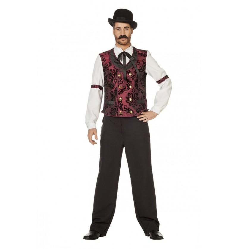 disfraz de camarero western para hombre