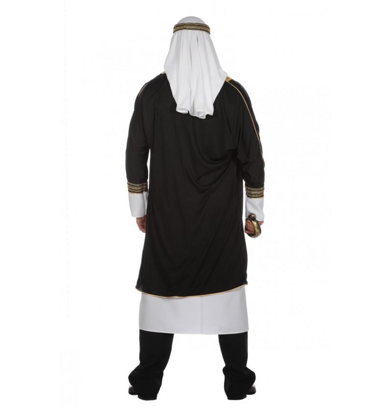 disfraz de jeque rabe blanco para hombre