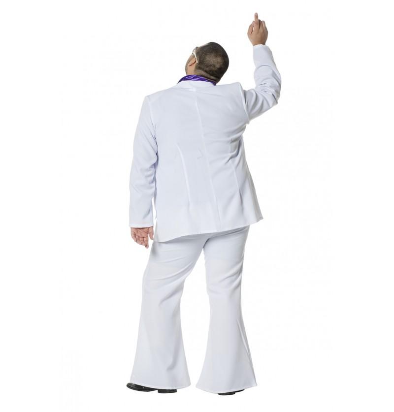disfraz de fiebre de sbado por la noche blanco para hombre