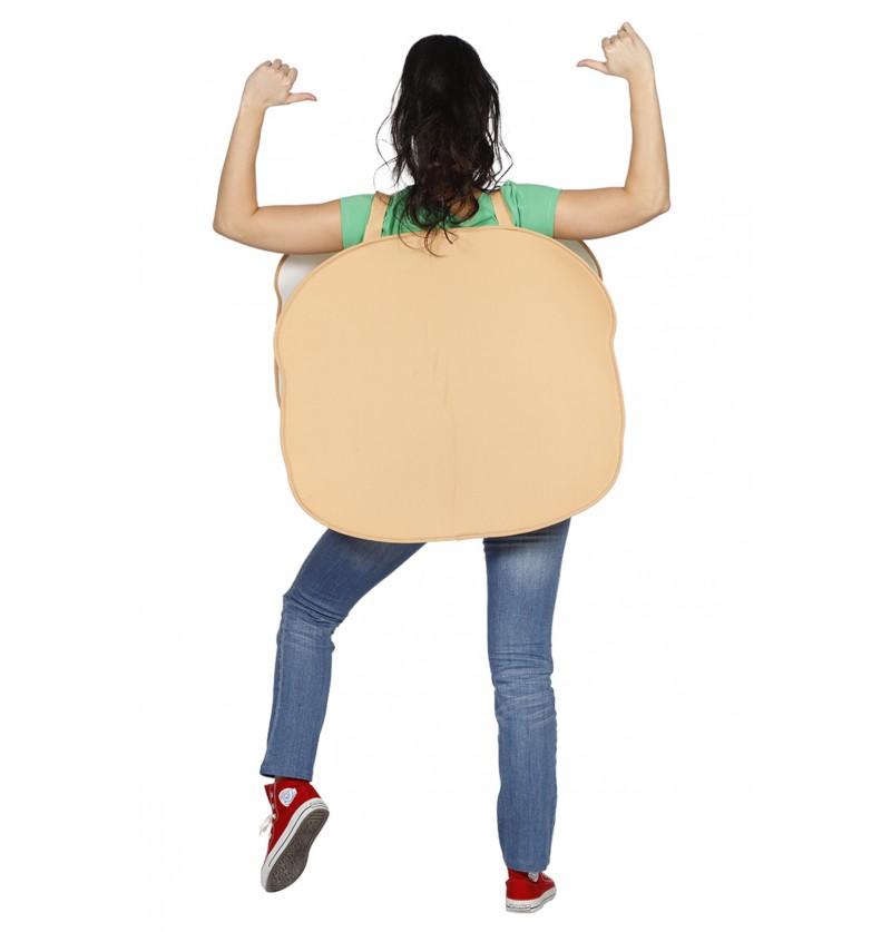 disfraz de hamburguesa para hombre