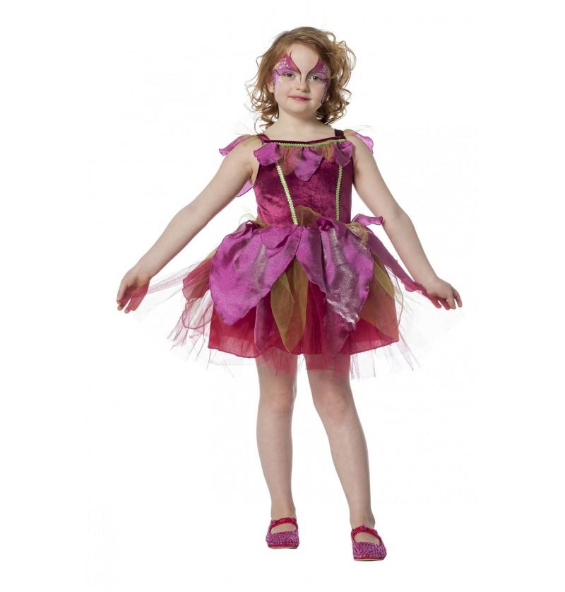 vestido de hada rosa para nia