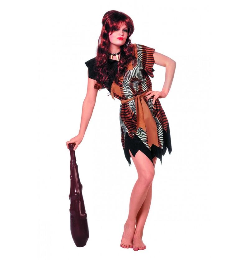 disfraz de caverncola para mujer