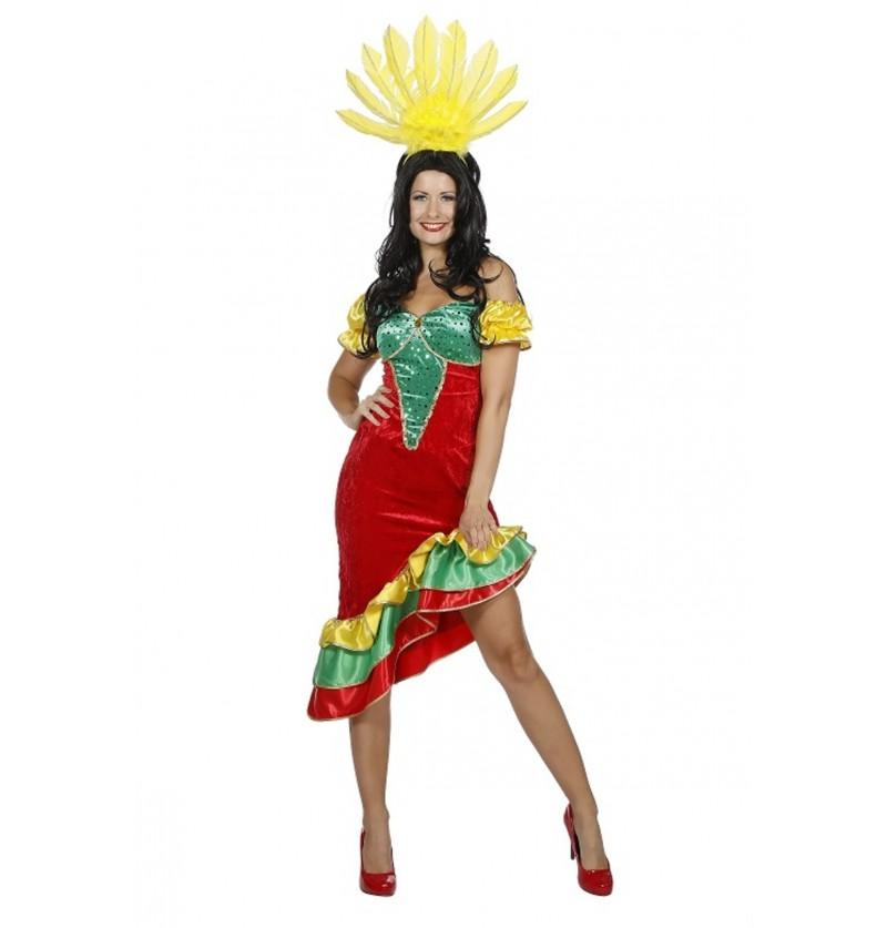 disfraz de samba para mujer