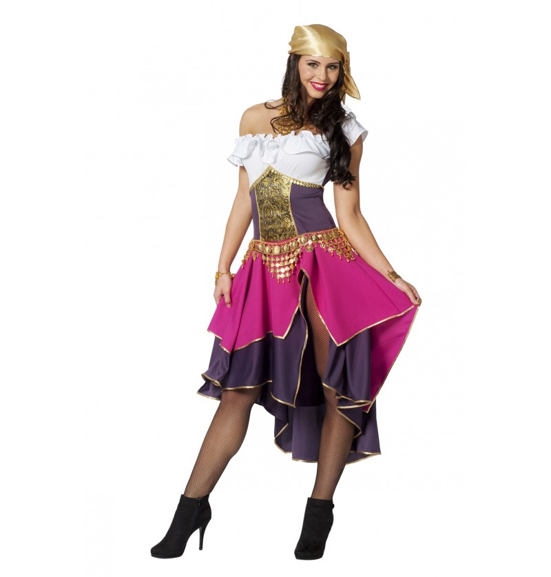 disfraz de gitana para mujer