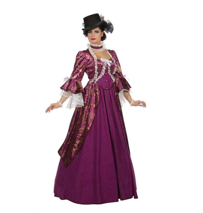 disfraz de marquesa victoriana para mujer