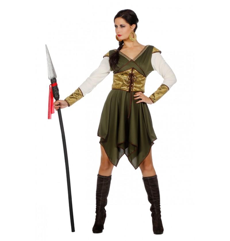 disfraz de guardin del castillo para mujer