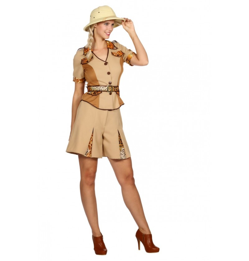 disfraz de safari para mujer