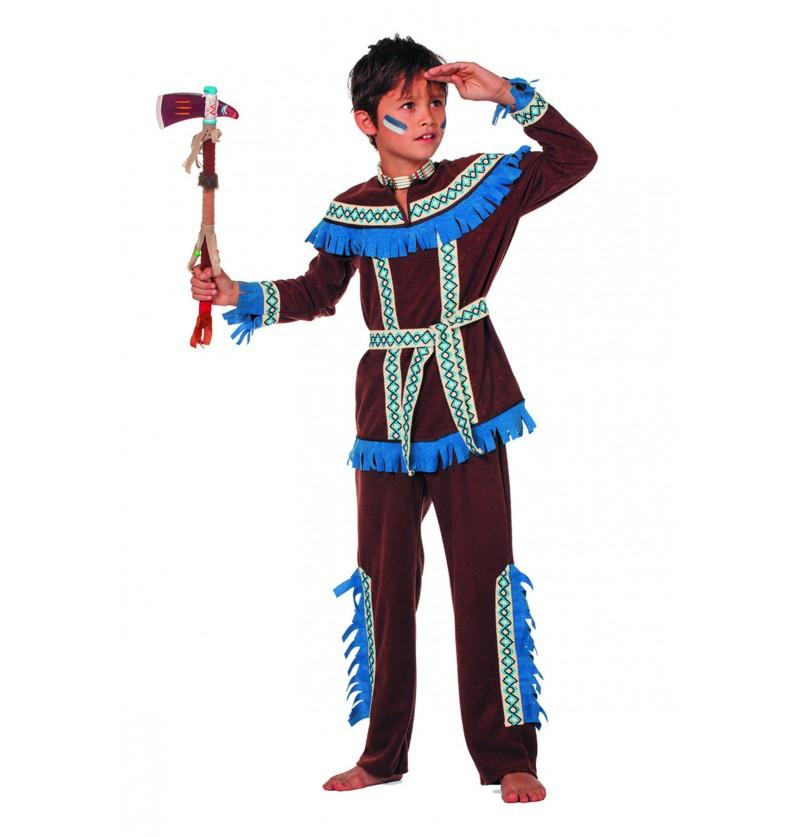 disfraz de indio principiante para nio