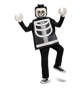 Disfraz de esqueleto Lego infantil