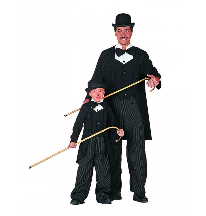 disfraz de charles chaplin para nio
