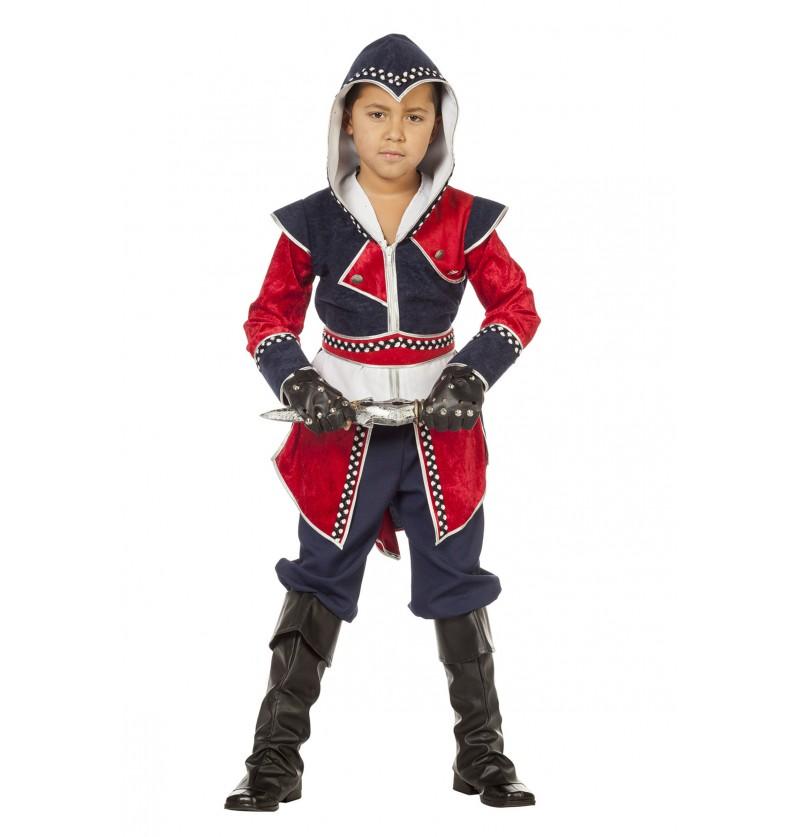 disfraz de guerrero kane para nio