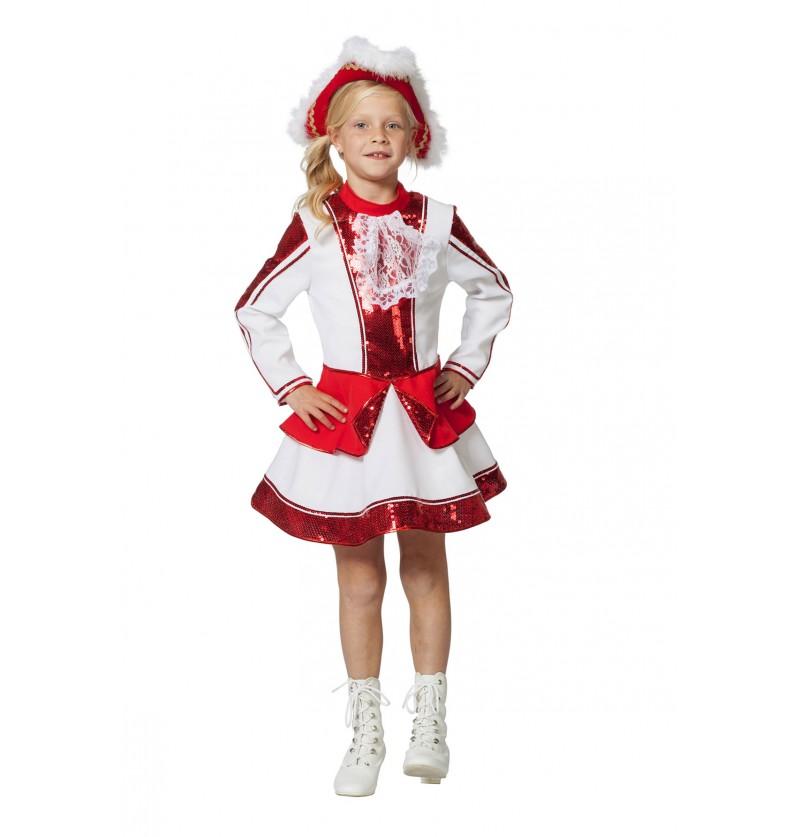 disfraz de majorette elegante para nia