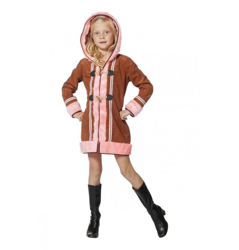 disfraz de esquimal rosa para nia