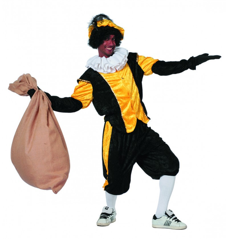 disfraz de pedro ayudante de san nicols amarillo para hombre