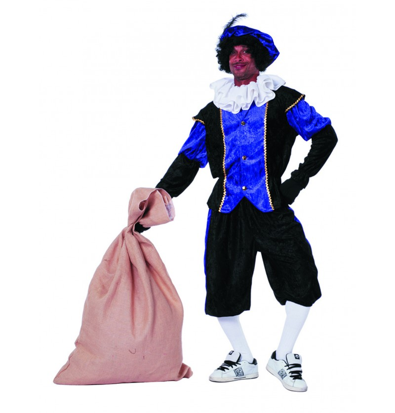 disfraz de pedro ayudante de san nicols morado para hombre