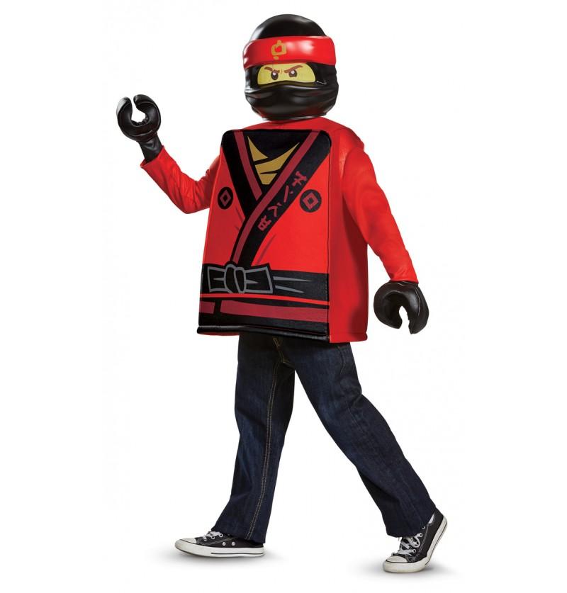Disfraz de Kai Lego Ninjago para niño