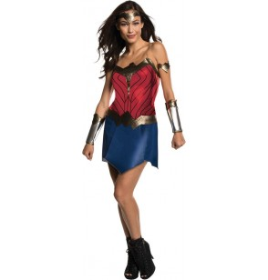 Disfraz de Wonder Woman Movie deluxe para mujer