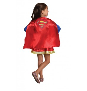 Kit disfraz de Supergirl para niña