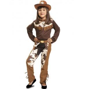 Disfraz de vaquera de rodeo para niña