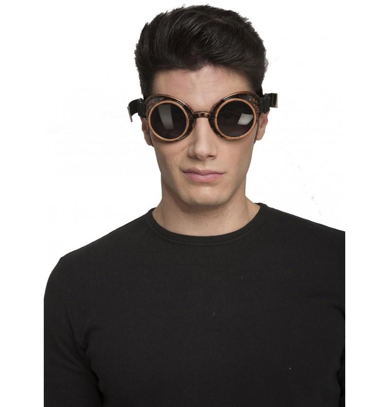 gafas steampunk oscuras para adulto