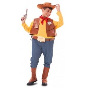 Disfraz de vaquero gordinflón para niño