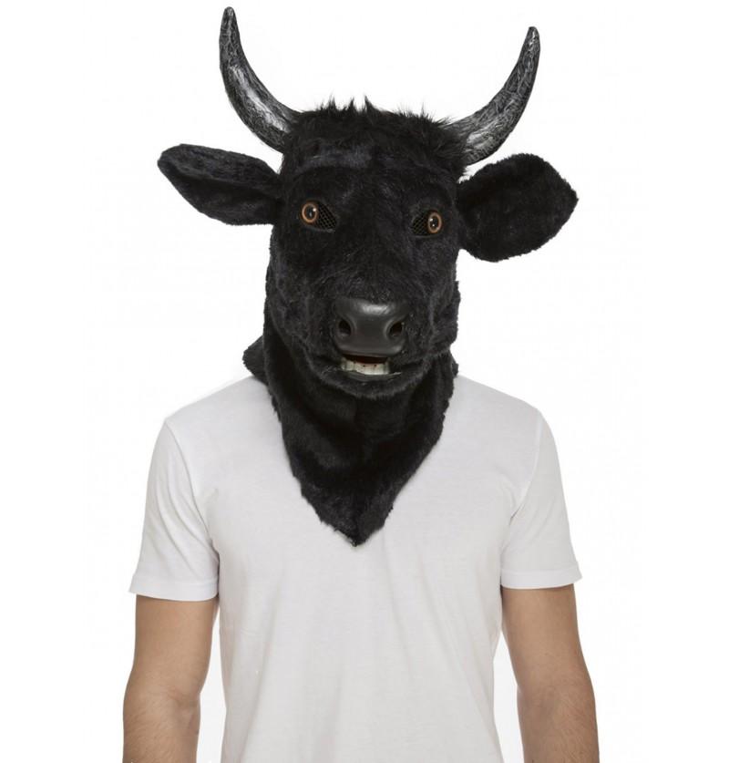 mscara de toro moving mouth para adulto