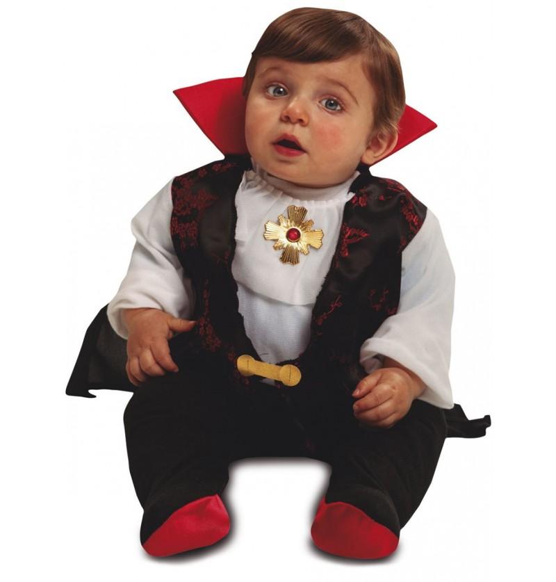 Disfraz de conde Drácula elegante para bebé