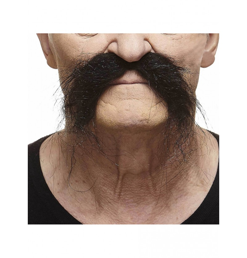 bigote de mariachi negro