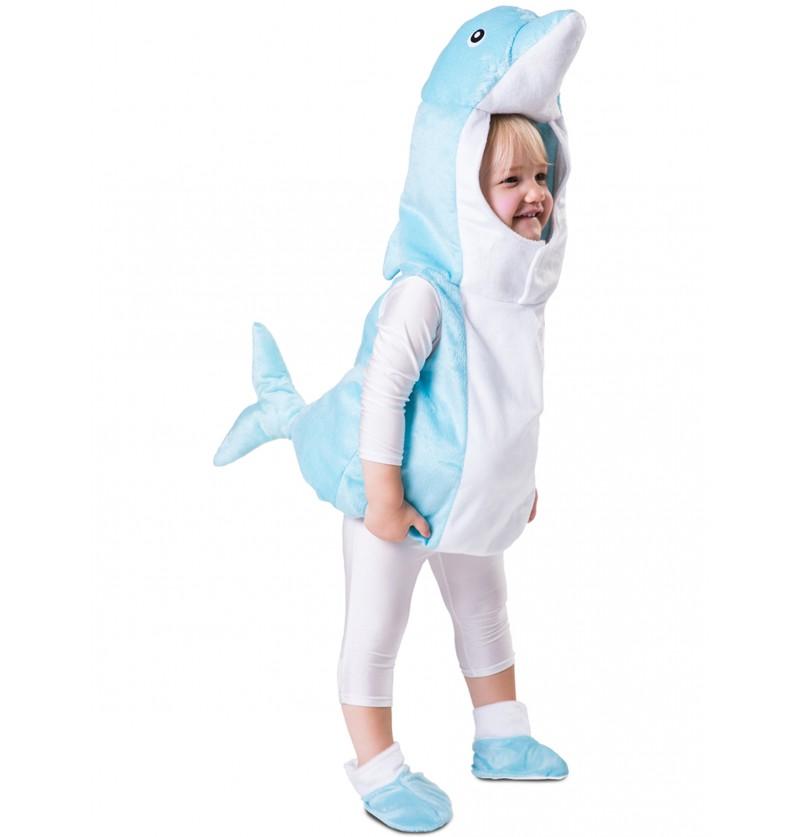 disfraz de delfn celeste para beb
