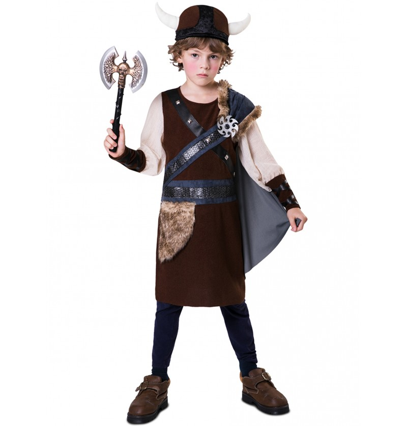 disfraz de vikinga para nio