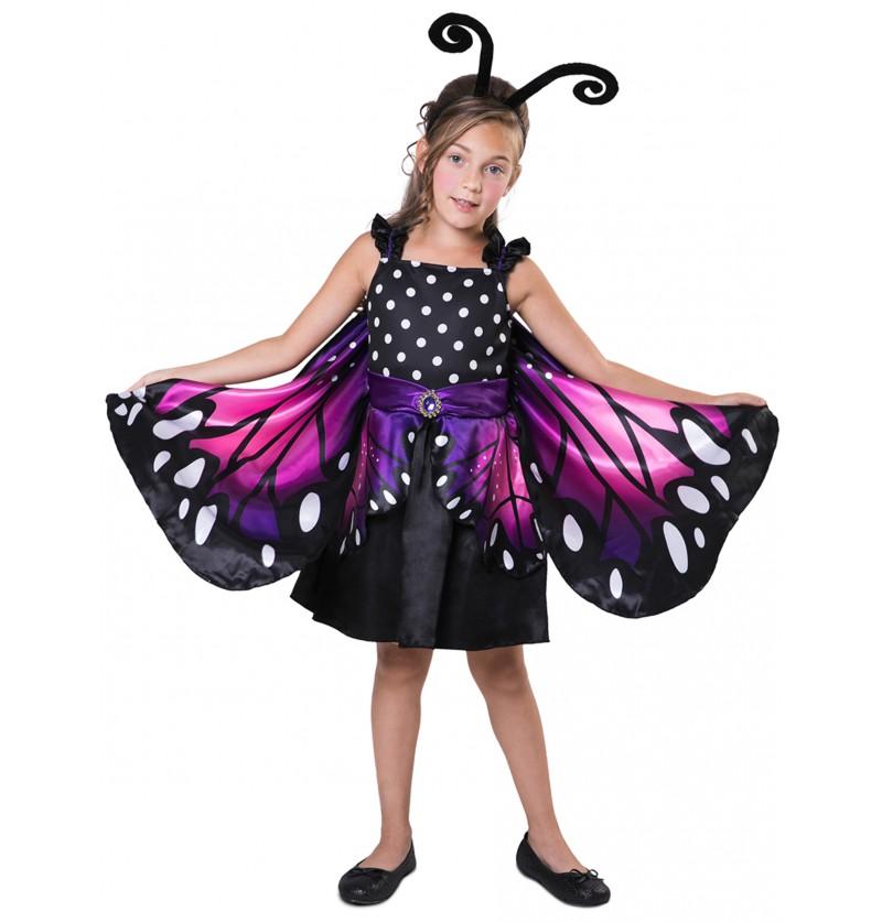 disfraz de mariposa pequea para nia