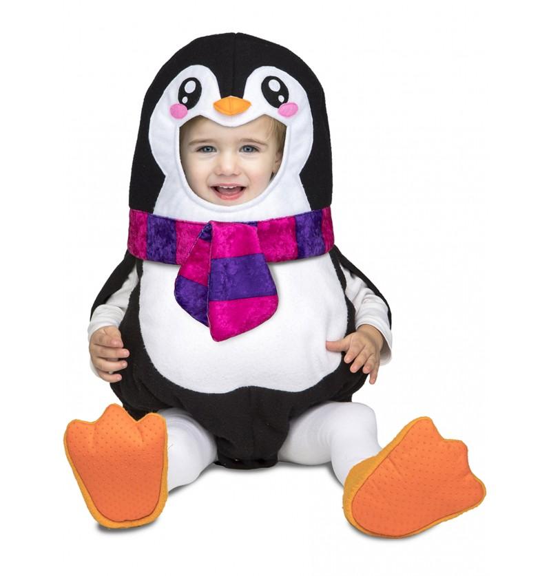 disfraz de pingino deluxe para beb