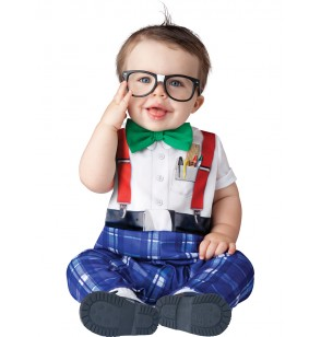Disfraz de nerd para bebé
