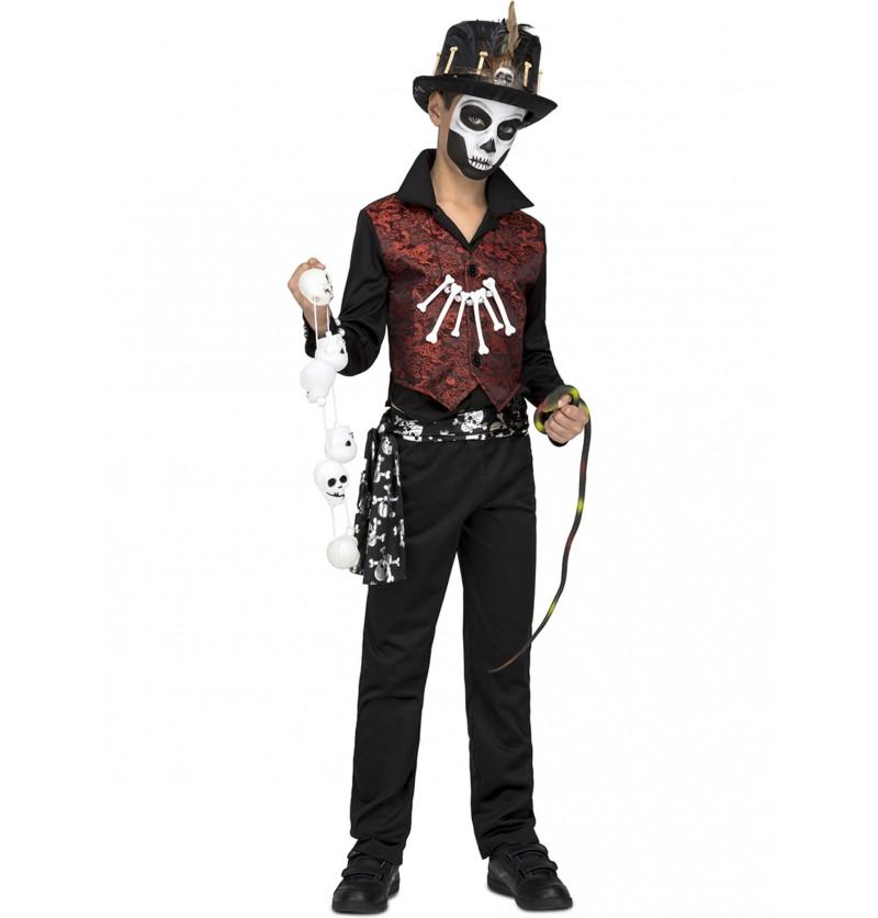 disfraz de maestro vud para nio
