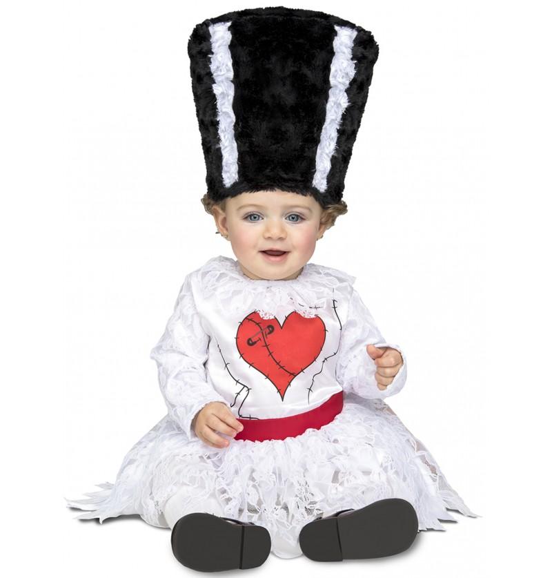 disfraz de novia de monstruo frankie para beb
