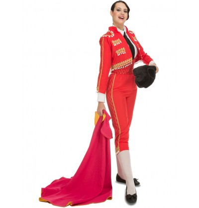 Disfraz de torero elegante para mujer