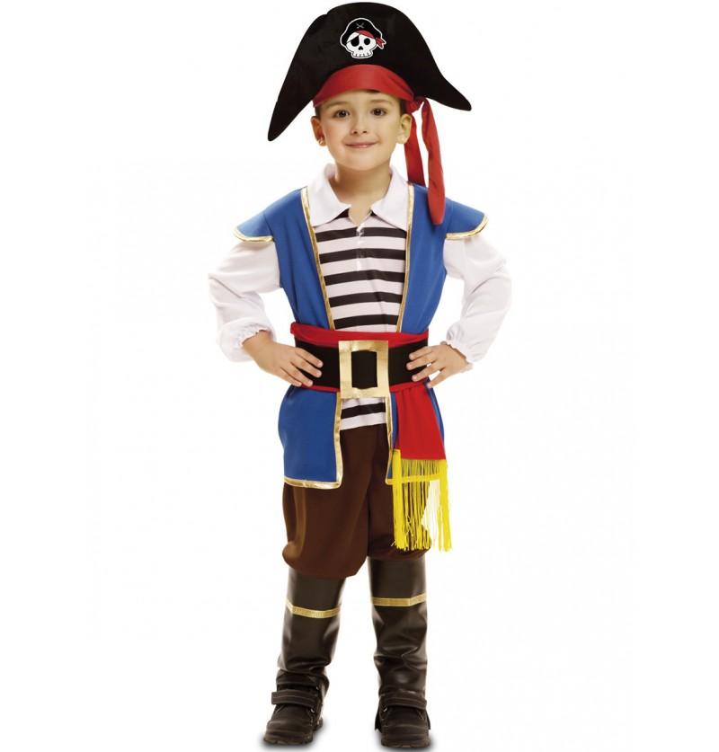 Disfraz de pirata Jake de los mares para niño