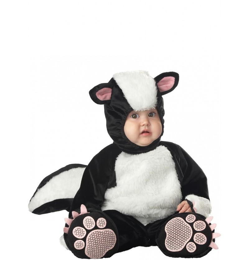 Disfraz de mofeta encantadora para bebé