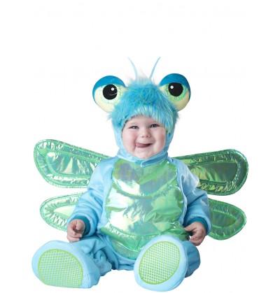 Disfraz de mariposa azul para bebé