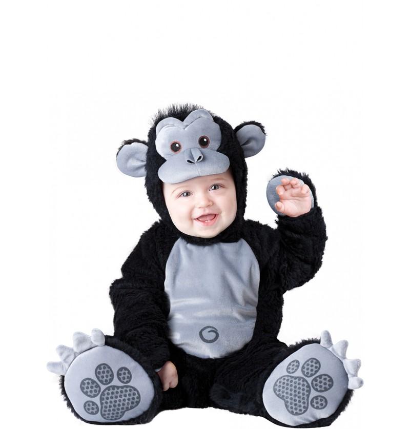 Disfraz de gorila amoroso para bebé
