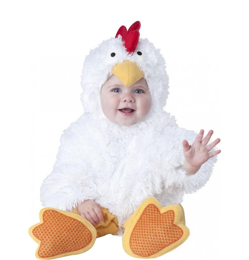 Disfraz de gallina para bebé