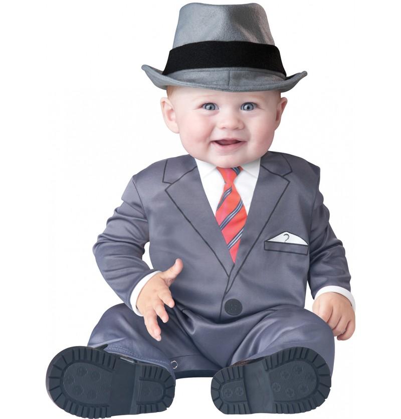 Disfraz de hombre de negocios para bebé