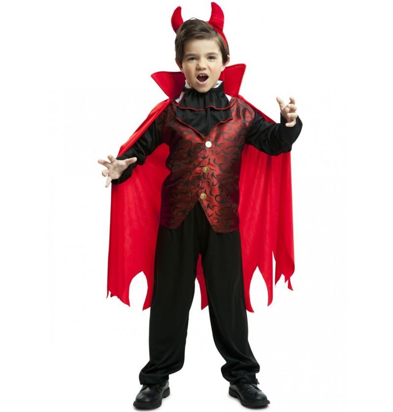 Disfraz de conde Drácula elegante para niño