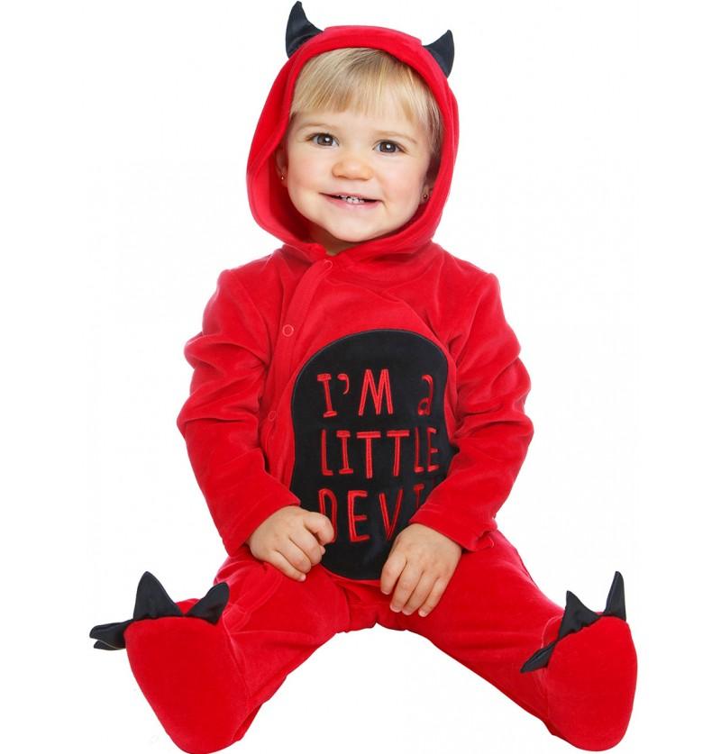 Disfraz de pequeño demonio para bebé