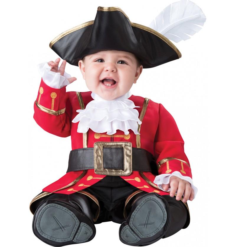 Disfraz de pirata malote para bebé